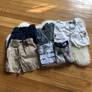 Other - ☀️**BUNDLE BOYS SIZE 5T** ☀️ 2 T-Shirts & 4 shorts